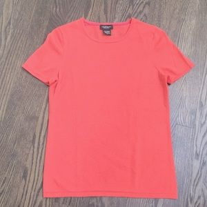 Lord & Taylor cashmere short sleeve top